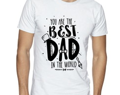 Camisa Masculina Best Dad in the World