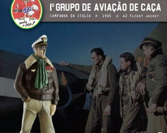 Piloto do 1° GAvCa - A2 Flight Jacket