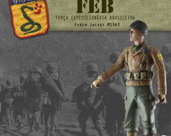Soldado da FEB - Field Jacket M1943