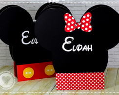 Caixa Maleta Minnie e Mickey