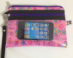 CARTEIRA PORTA CELULAR - POLLY POCKET