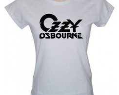 Camisa Ozzy Osbourne Rock Black Sabbath