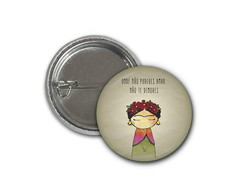 Botton Frida Kahlo - 2,5cm