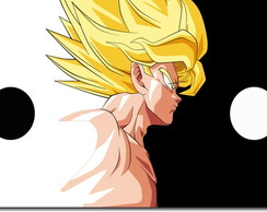 Quadro Decorativo Dragon Ball Goku 1 pç