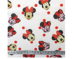 Tecido Patchwork Mickey Minnie- 50*145cm