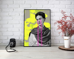Quadro Frida Color