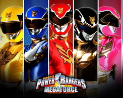 Painel 1,50x1 Power Ranger