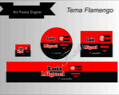 kit festa digital personalizada