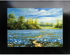 QUADRO DECORATIVO - FLORES DO CAMPO 3