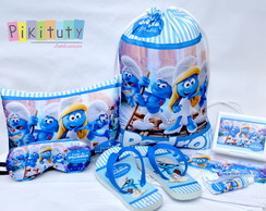 Kit Festa do Pijama Smurfs