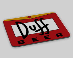 MOUSE PAD PERSONALIZADO DUFF
