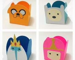 Forminha Adventure Time - Personagens
