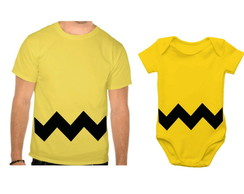 Camiseta + Body - Charlie Brown Snoopy