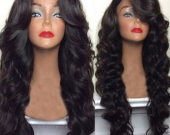 Lace wig humano 70cm invisible part