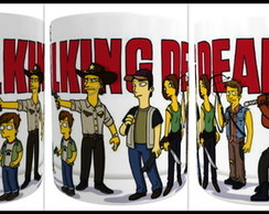 Caneca de Porcelana The Walking Dead