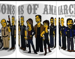 CANECA DE PORCELANA SONS*OF*ANARCHY