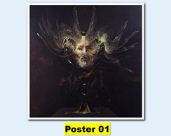 Poster 30X30 Metal Album Behemoth