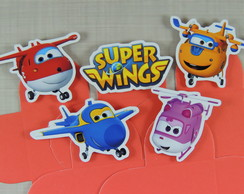 cod 5152 - 100 Forminhas Super Wings