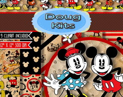 Mickey e Minnie Kit digital 04