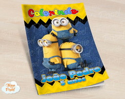 Revista colorir Minions