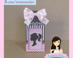 Caixa Milk tema Barbie Paris