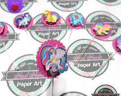 Topper de doces My Little Pony