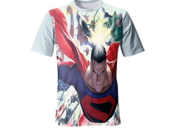 Camiseta do Superman - Infantil