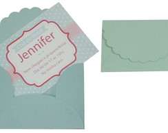 Convite 10x7cm com envelope Color B01
