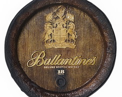 Tampa Barril Decorativo Ballantines 42cm