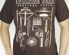 Camiseta Walking Dead Survival Tools