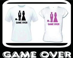 Kit casal Game Over 2 Unidades