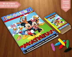 Kit de Colorir - Mickey