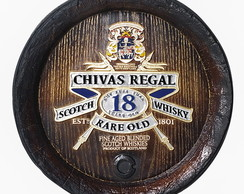 Tampa Barril Decorativo ChivasRegal 42cm