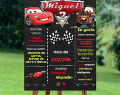 Chalkboard Carros Digital