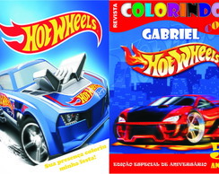 Hot Wheels - revistinha - lembrancinha