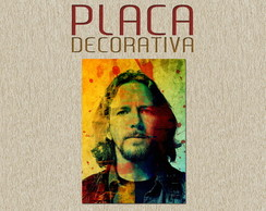 PLACA DECORATIVA - PEARL JAM - 01