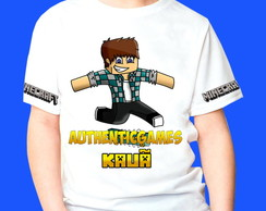 Camiseta Minecraft Authentic Games 1