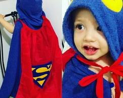 3e50f6049 Roupão infantil Super Homem no Elo7