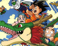 Quadro Dragon Ball - 02 - 25 x 35 cm