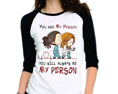 Camiseta Greys Anatomy You Are My Person