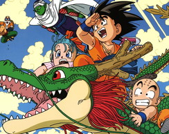 Quadro Dragon Ball - 02 - 30 x 40 cm