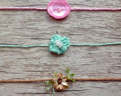 Kit de Headbands para Newborn