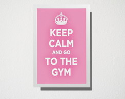 Poster A3 Go to the gym