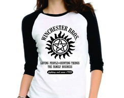 Camiseta Supernatural Winchester Bros