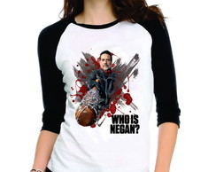 Camiseta The Walking Dead Who Is Negan
