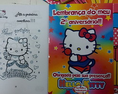 Revistinha para colorir - Hello Kitty