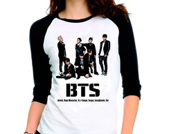 Camiseta Bangtan Boys Bts Integrantes