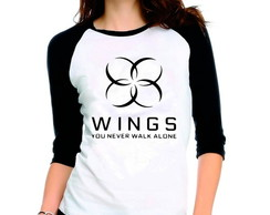 Camiseta Bangtan Boys Bts Walk Alone 3/4