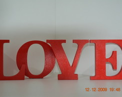 Letras decorativas- LOVE