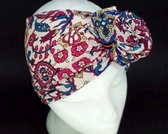 Turbante Aramado Estampado